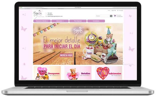 Desarrollo tienda online magika