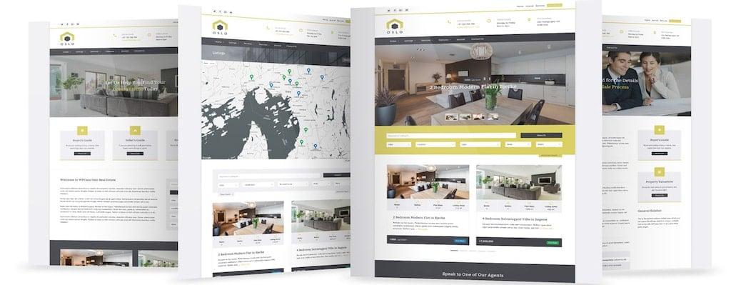 Diseño de Páginas web para inmobiliarias.