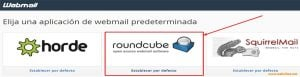 roundcube-webmail- iniciar sesion