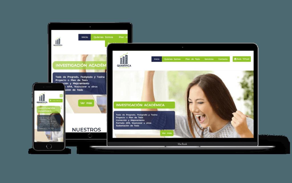 portafolio web para educativos
