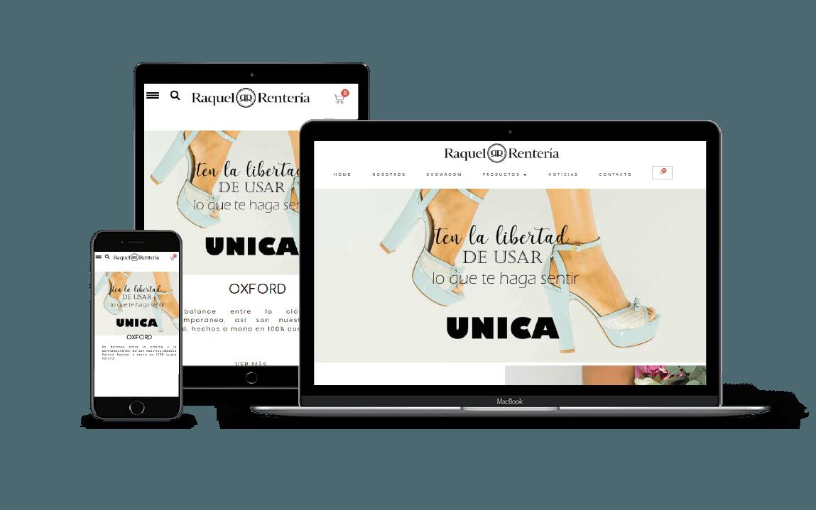 portafolio web tienda online ropa