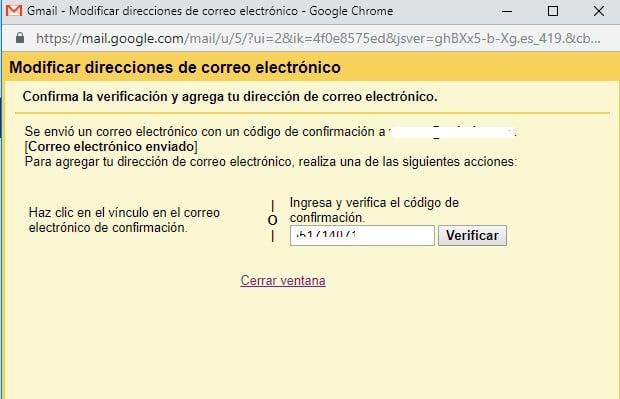 Correo verificacion gmail corporativo