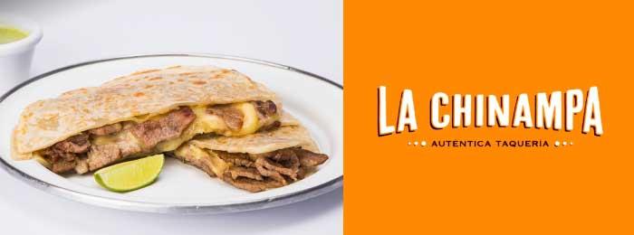 logo de restaurante mexicano la chinampa
