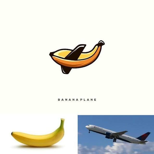 logo plantano y avion