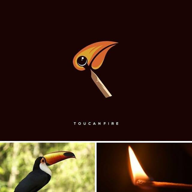 logotipo tucan y fosforo