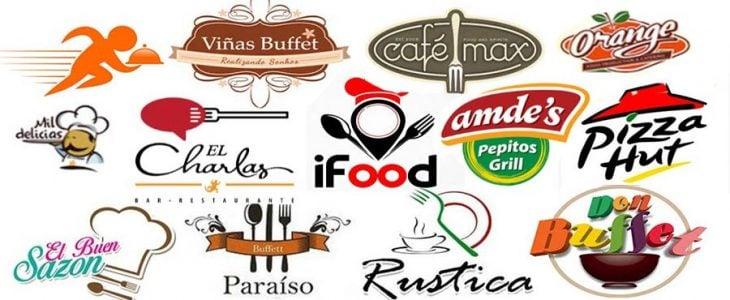 mejores modelos de logos de restaurantes famosos