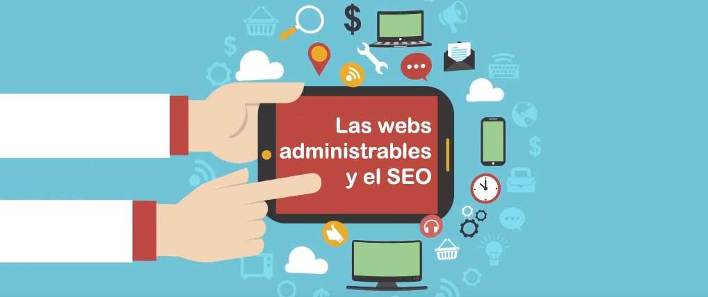 el seo y las web administrables